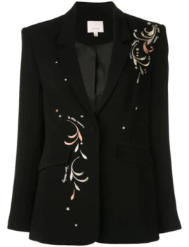 Estelle Embroidered Blazer by Cinq A Sept