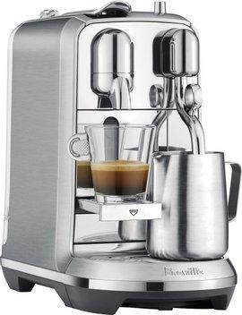 Nespresso Creatista Plus Espresso Machine   Brushed Stainless Steel by Breville