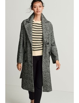 Monochrome Belted Coat by Next