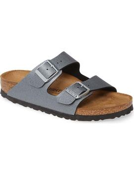 Arizona Icy Metallic Slide Sandal by Birkenstock
