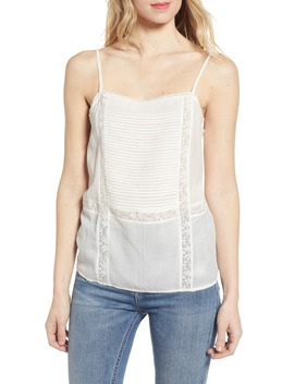 Lace Trim Camisole by Hinge