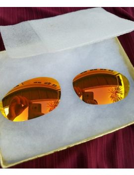 Rare New!Fire Irid Gold 100% Original Oakley Xx Twenty Or Minute 2.0 New Lenses by Oakley