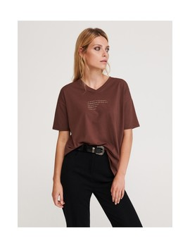 Damen T Shirt by Reserved