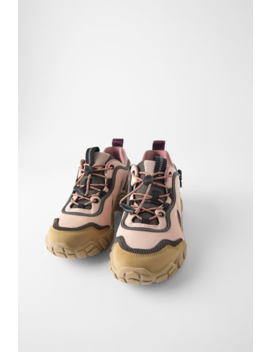 Mountain Sneakers View All Shoes Woman by Zara