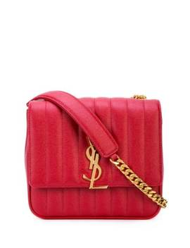 Large Vicky Bag by Saint Laurent