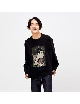 Herren Ut Bedrucktes Sweatshirt Edo Ukiyo E by Uniqlo