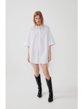 Oversized Poplin Shirt View All Shirts by Zara