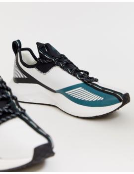 Reebok Sole Fury Sneakers In White by Reebok's