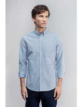 The Oxford Shirt   Blue by Asket