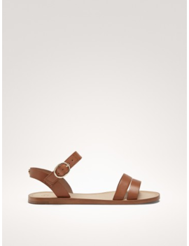 Strappy Leather Sandals by Massimo Dutti
