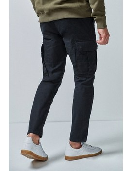 Slim Fit Pure Cotton Cargo by Next
