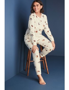 Cosy Pyjamas With Ribbon Wrapping by Next