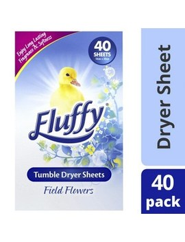 Field Flowers Tumble Dryer Sheets by Fluffy