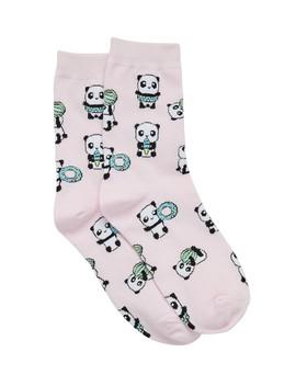 Beach Panda Crew Sock by Sportsgirl