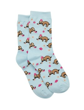 Summer Sloth Crew Sock by Sportsgirl