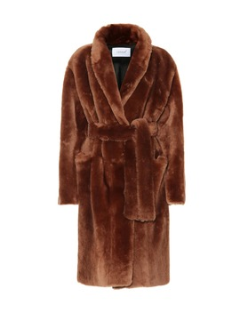 Robe Shearling Coat by Common Leisure