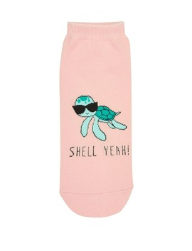Shell Yeah Ankle Sock by Sportsgirl