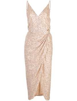 Sequin Wrap Dress by Jonathan Simkhai