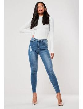 Sinner Clean Distressed Skinny by Missguided