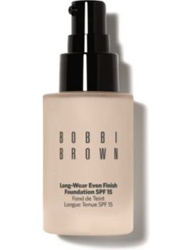 Long Wear Even Finish Foundation Spf 15 by Bobbi Brown
