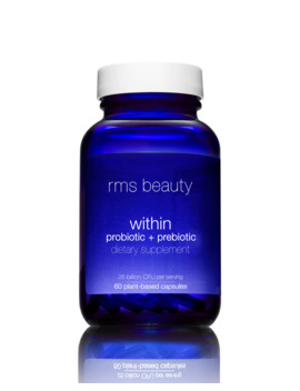 Beauty Within Probiotic + Prebiotic Dietary Supplement, 60 Capsules by Rms Beauty