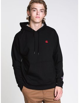 Mens Colour Pop Pullover Hd   Black/Red by Championchampion