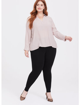 Black Ponte Winter Legging by Torrid