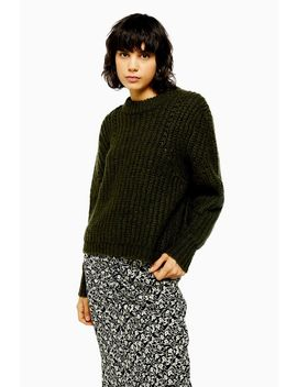 Idol Chunky Jumper With Wool by Topshop