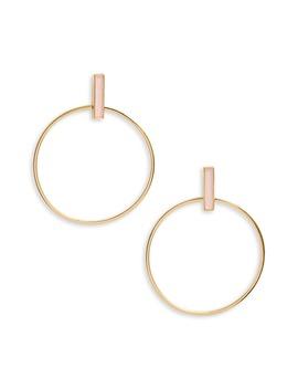 Montecito Bar Hoop Earrings by Gorjana