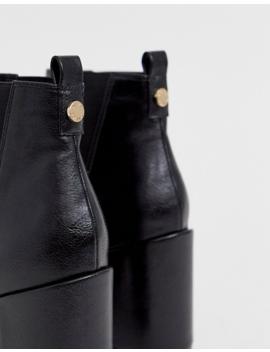 Office – Amazing – Spitze Ankle Boots Mit Hohem Absatz In Schwarz by Asos