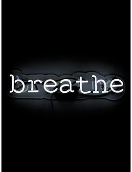 Breathe Neon Sign Acrylic Gift Light Decor Glass Lamp Bar Artwork With Dimmer by Ebay Seller