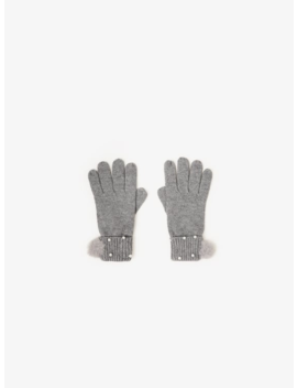 Ribbed Gloves With Pearls New Ingirl by Zara