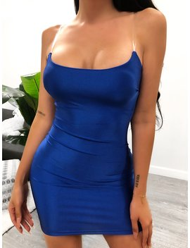 Jade Dress (Royal Blue) by Laura's Boutique