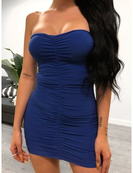 Lay Dress (Royal Blue) by Laura's Boutique