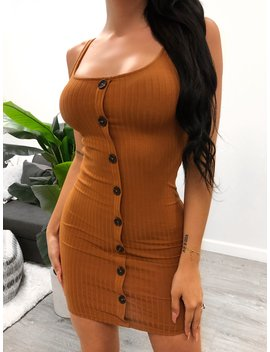 Tienna Dress (Camel) by Laura's Boutique