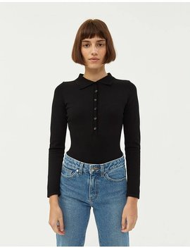 Barstow Long Sleeve Bodysuit by Needneed
