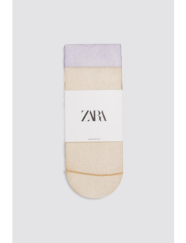Pack Of Socks With Metallic Thread  New Inwoman by Zara