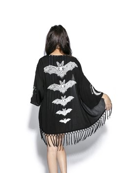 Release The Bats   Kimono by Blackcraft Cult