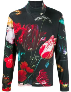 Floral Print Sweater by Paul Smith