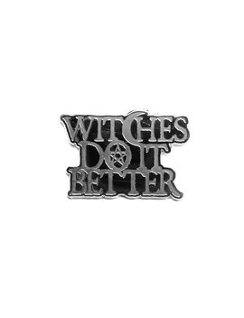 Witches Do It Better   Collectors Pin by Blackcraft Cult
