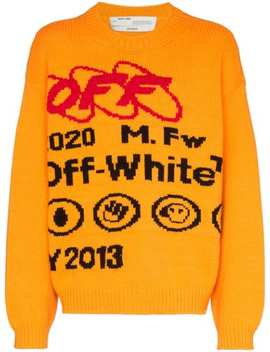 Trui Met Print by Off White