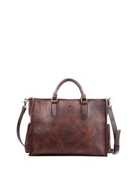 Monte Leather Tote Bag by Old Trend