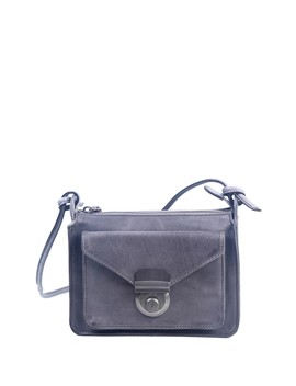 Moon Valley Leather Crossbody Bag by Old Trend