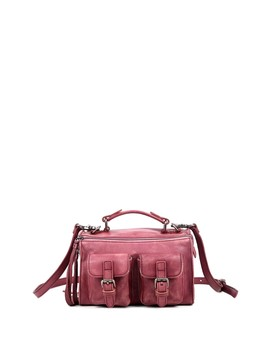 Las Luna Leather Crossbody Bag by Old Trend