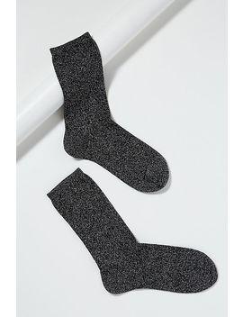 Metallic Glitter Ankle Socks by Dear Denier