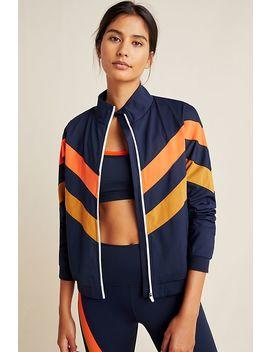 Splits59 Faye Striped Jacket by Splits59