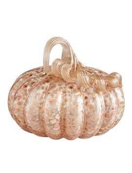 Copper Dots Glass Pumpkin by Pier1 Imports