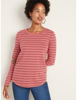 Every Wear Striped Long Sleeve Tee For Women by Old Navy