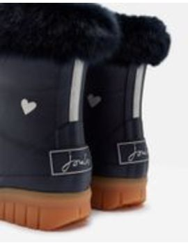 Chilton Winter Rain Boots With Faux Fur Cuff by Joules