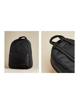 Plain Nylon Backpack by Ted Baker